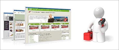 An instant website installer